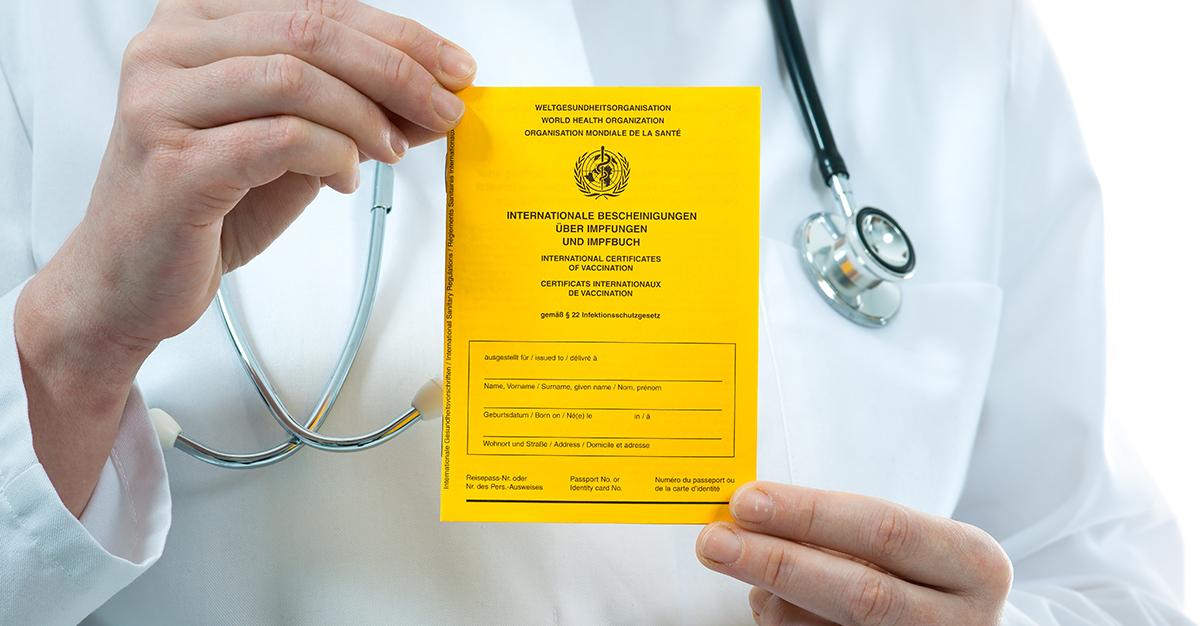 ¿Qué es el Certificado Internacional de Vacunación contra la fiebre amarilla?