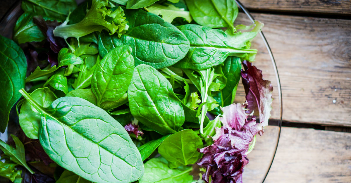 Uncooked greens pose a much higher risk for food poisoning.
