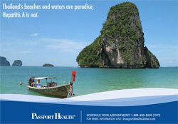 Thailand's beaches and waters are paradise; Hepatitis A is not.
