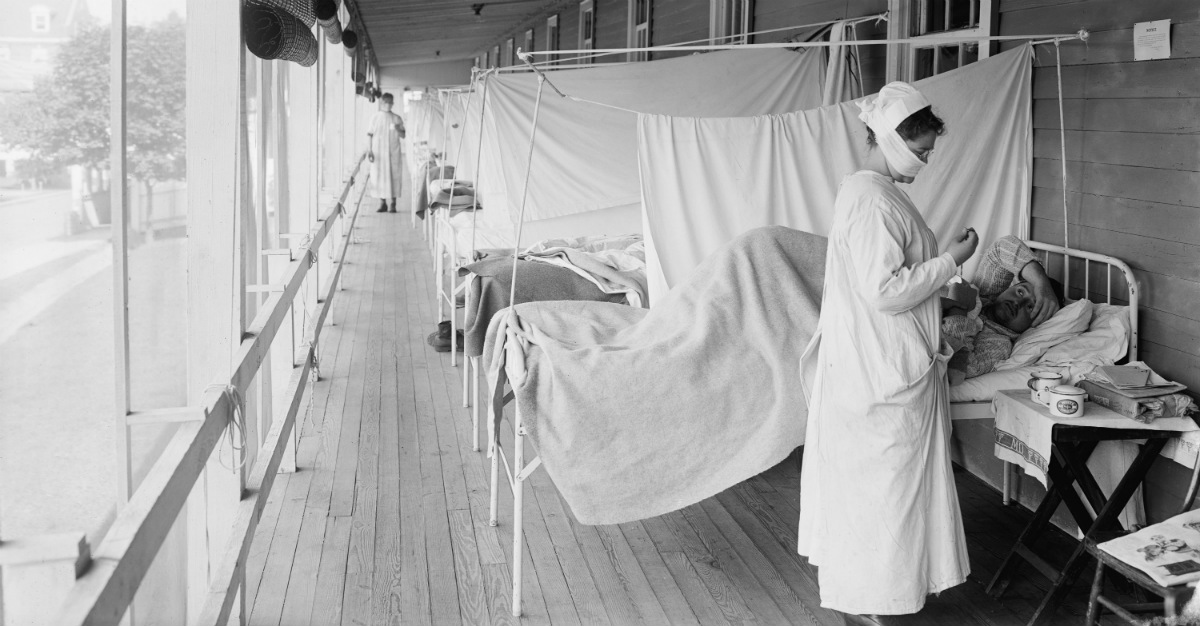 The Spanish Flu led to positive changes for public health.
