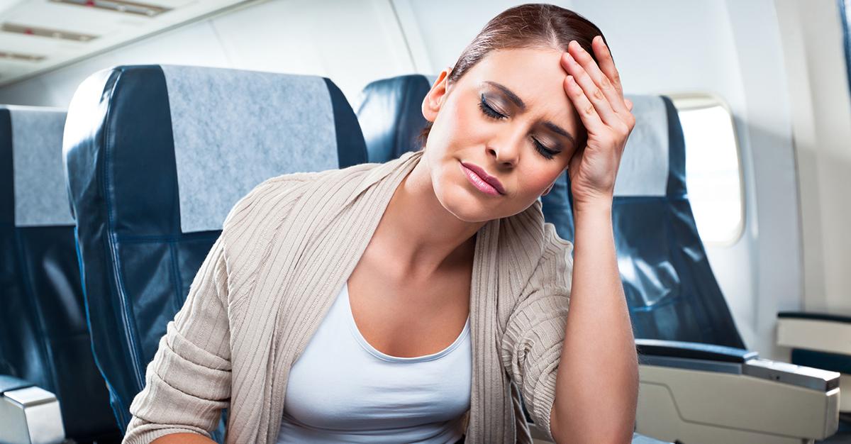 Consejos para combatir la gripa durante un vuelo