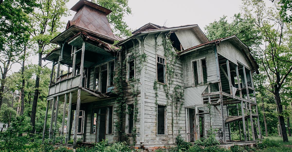 Hoteles y casas embrujadas en CDMX