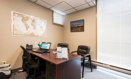 Barrie Travel Clinic Consultation Room