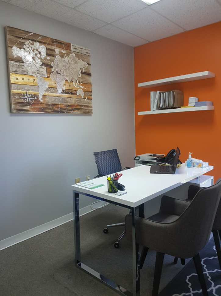 Passport Health Orangeville Travel Clinic Consultation Room