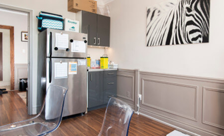 North York Ontario Travel Clinic Consultation Room
