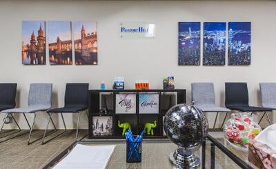 Calgary Alberta Travel Clinic Front Office