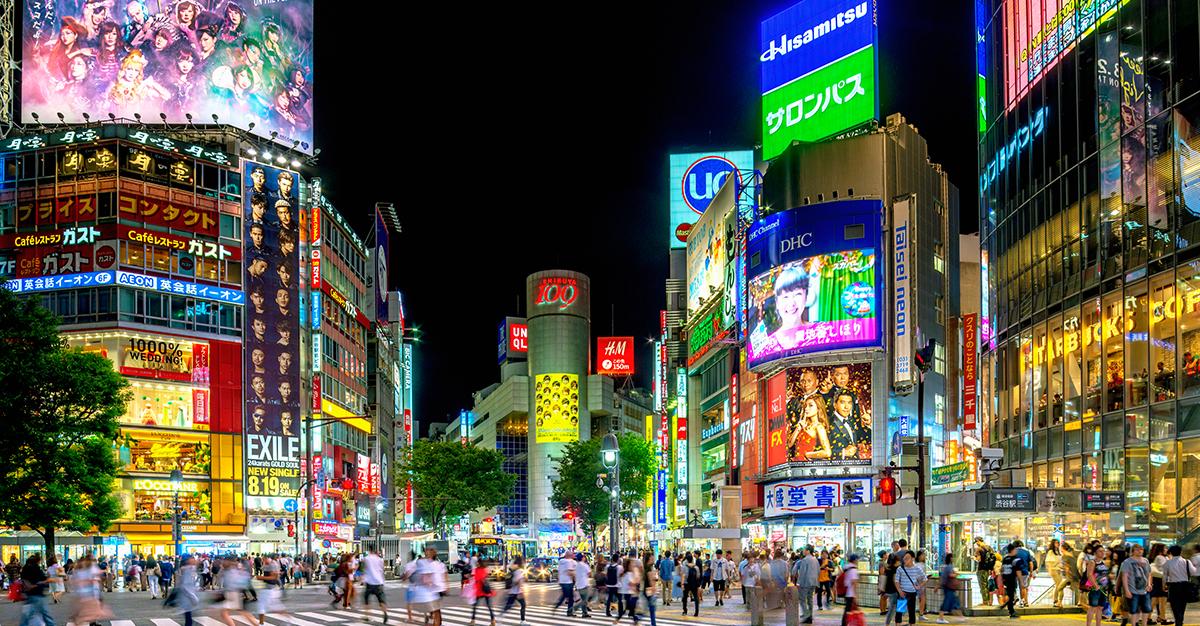 Brote de sarampión en Japón