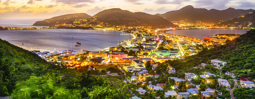 City and water are side-by-side in amazing St. Martin. Travel healthy with Passport Health.