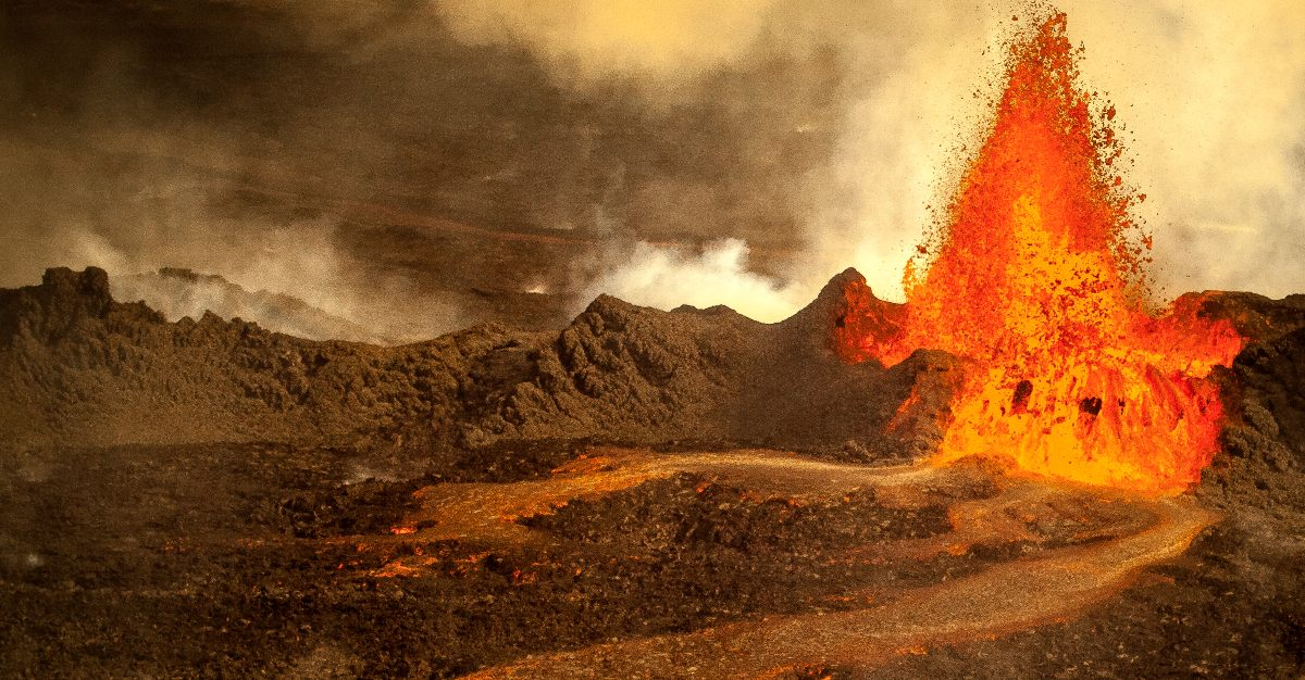 Iceland is home to 30 active volcanoes.