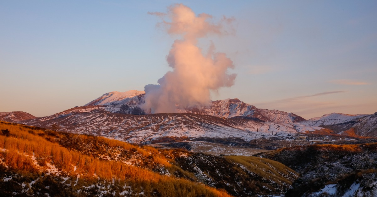 Mount Aso embraces the trending tourism, with paths to the volcano.