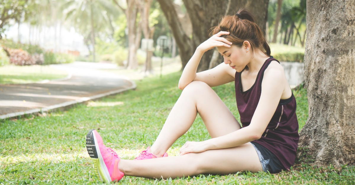 It may be fine to exercise while feeling sick.