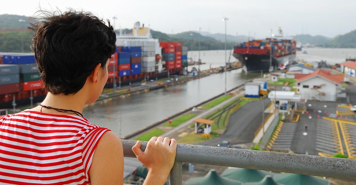 Conoce el canal de Panamá