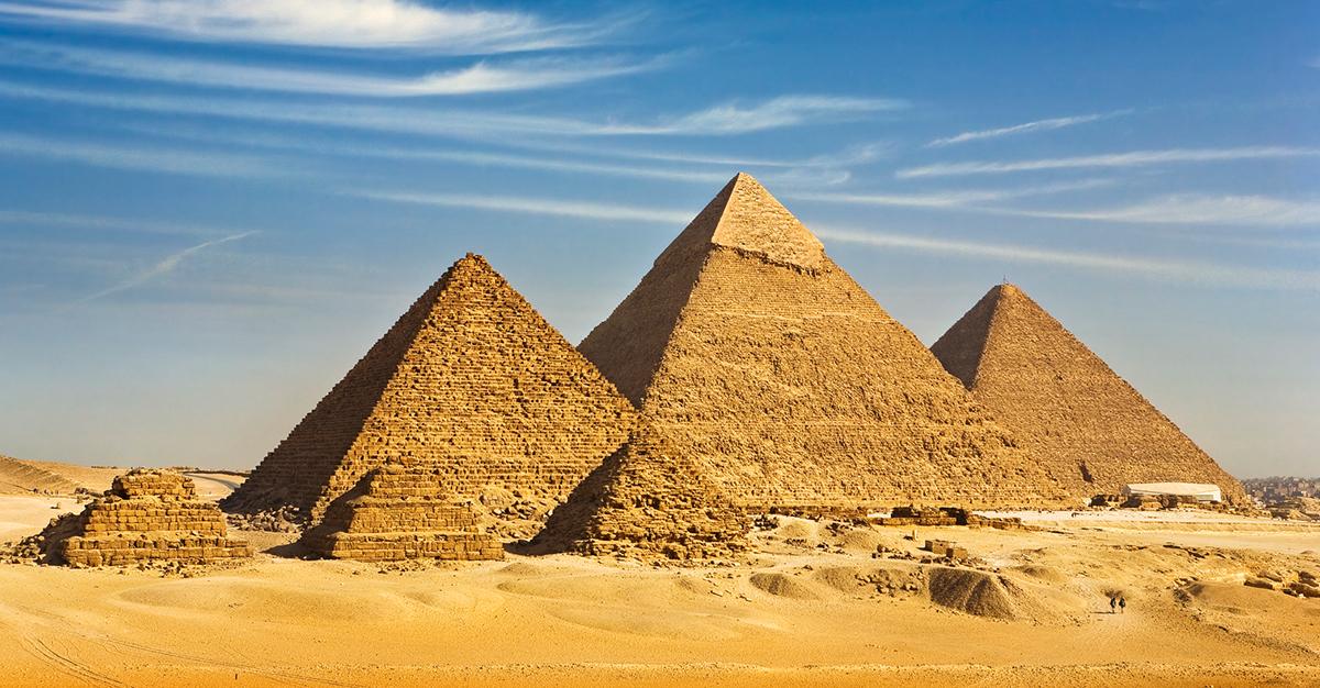 Conoce las Pirámides de Egipto