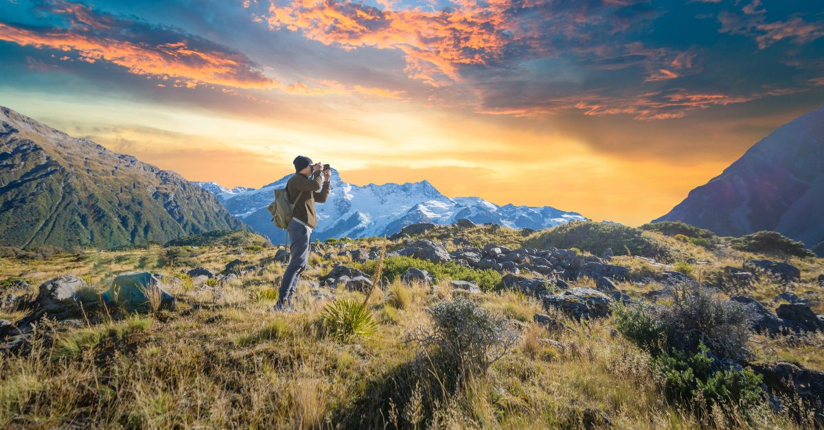 New Zealand is rich for hiking and outdoor activities on your own.