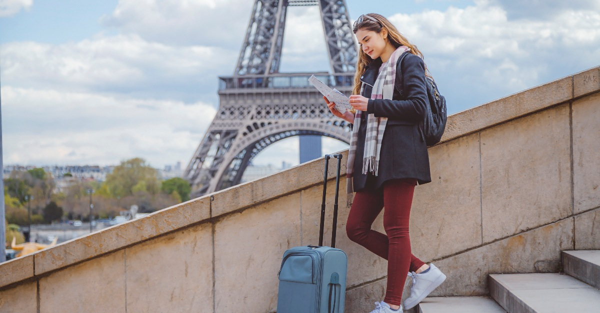 France receives more international travelers than any other country.