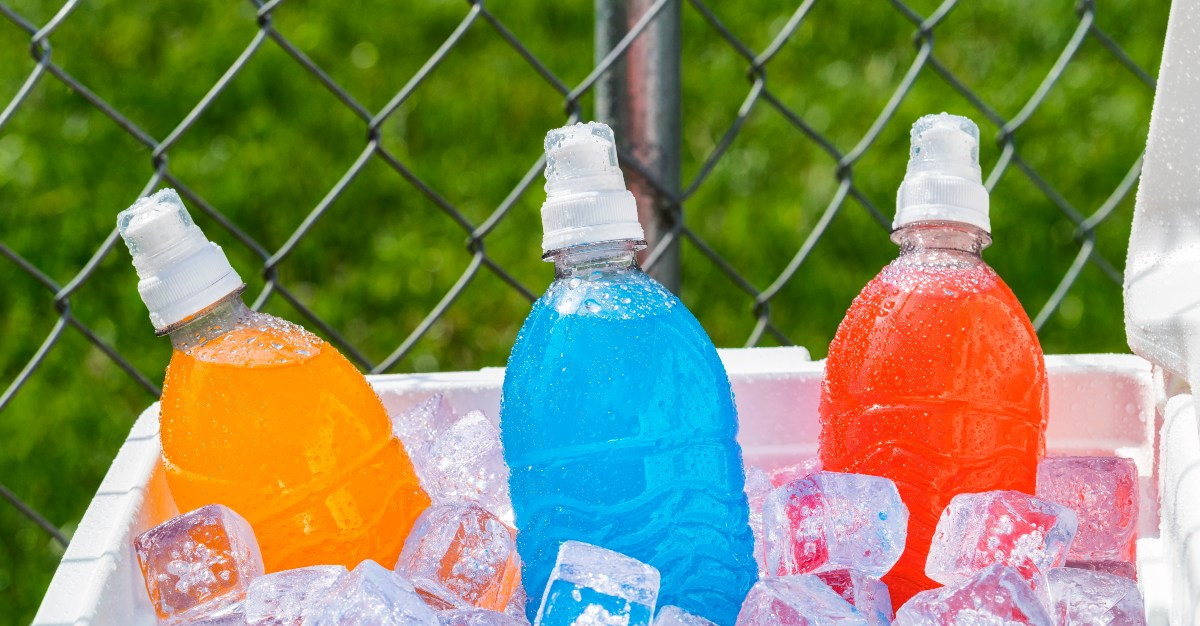 Electrolytes found in sports drinks can help the immune system.