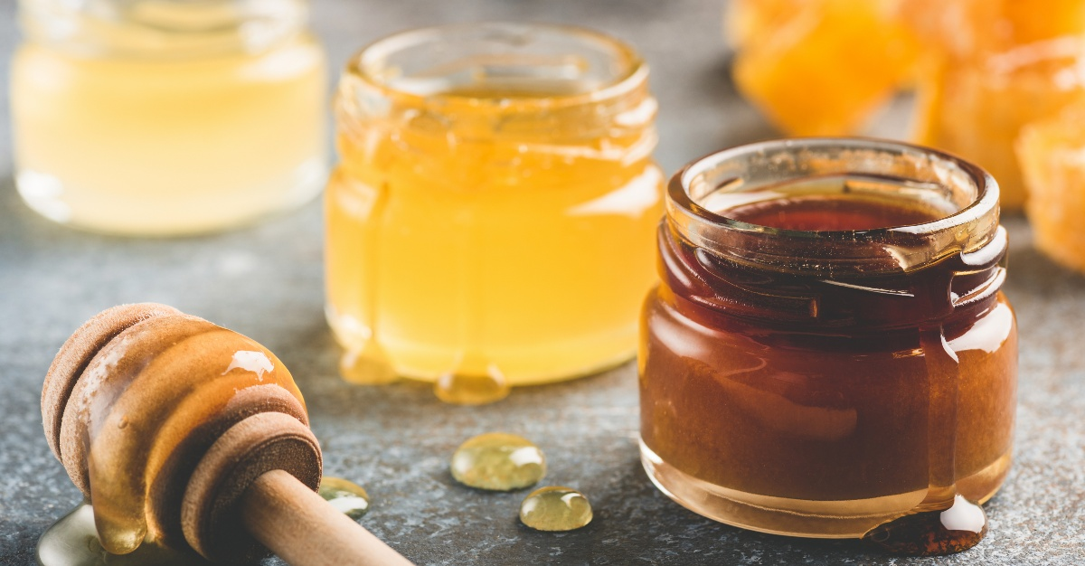 Honey can ease some sick symptoms like a sore throat.