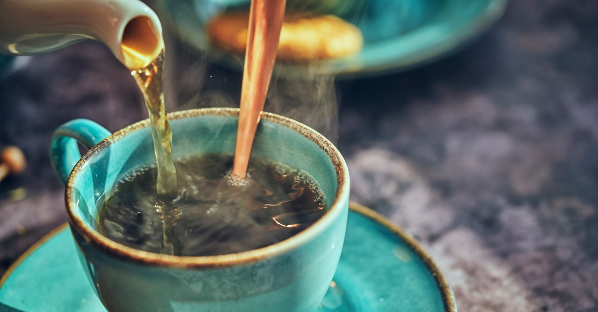 Tea can both ease painful symptoms and improve the immune system.