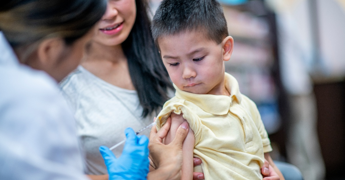 A measles drive aims to vaccinate 45 million children around the world.